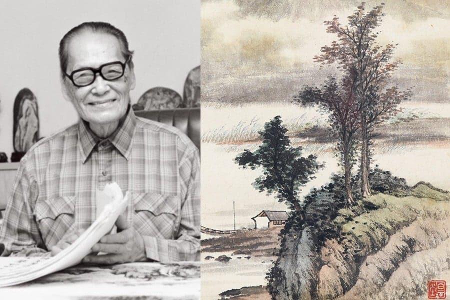 黃君璧ー飛瀑流泉,繪製心中桃花源ー書畫拍賣會潛力無限