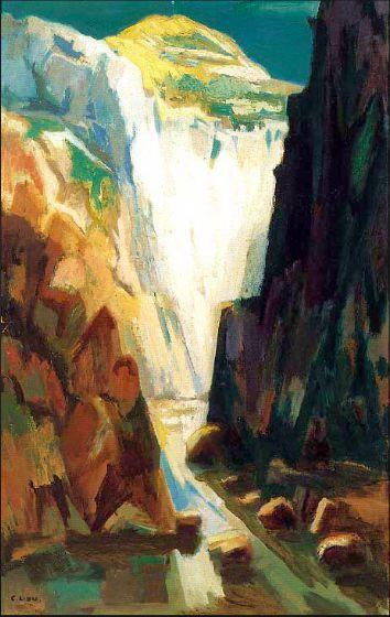劉啟祥的太魯閣系列 繪出壯闊的山川風貌
