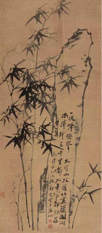 勁節之竹是鄭板橋所仰慕的人格風範