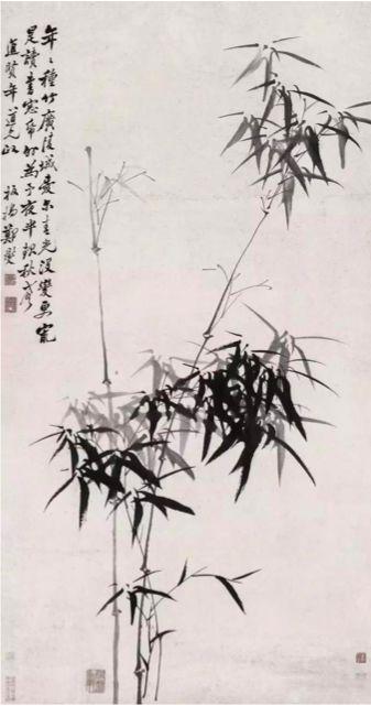 鄭板橋畫的竹 別有一番逸趣