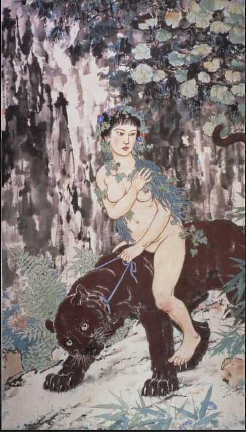 3 徐悲鴻的作品具有浪漫的特質