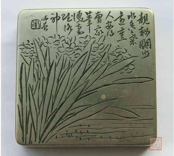 墨盒曾是傳統文人重要文房之一