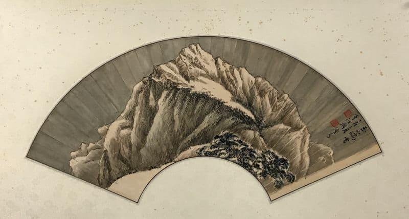 玉山瑞雪 周澄繪出心中的臺灣映象